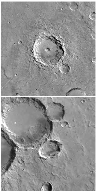 I crateri in Hesperia Planitia e Sinus Sabeus probabile origine di ALH84001
