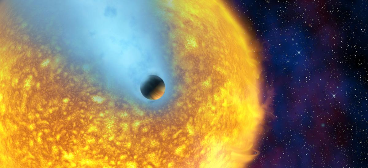 Osservata la prima atmosfera di un pianeta extrasolare