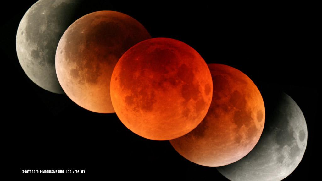 Eclissi parziale di Luna del 16 Luglio 2019
