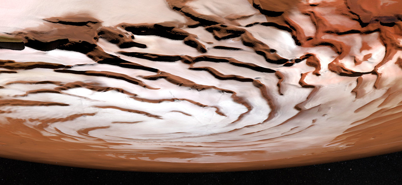 Scoperta acqua su Marte