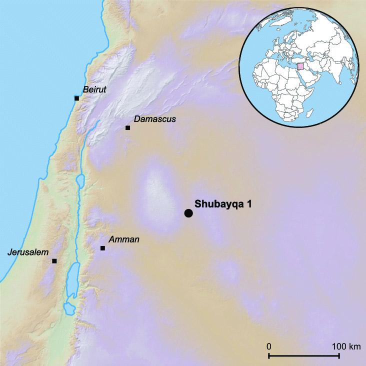 Il sito Shubayqa 1, nel nordest della Giordania