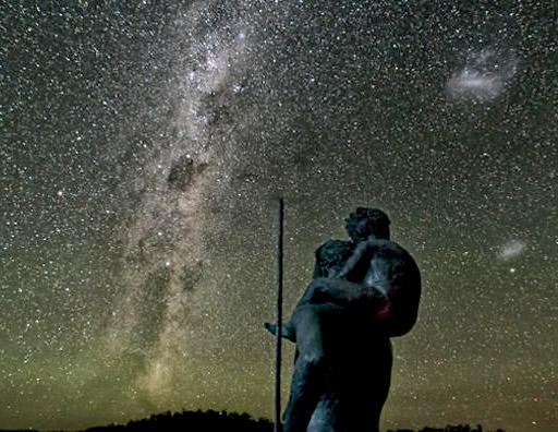 Gli aborigeni, la Via Lattea e il mito di Priepriggie