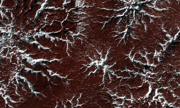 L'evoluzione dei ghiacci nel passato di Marte