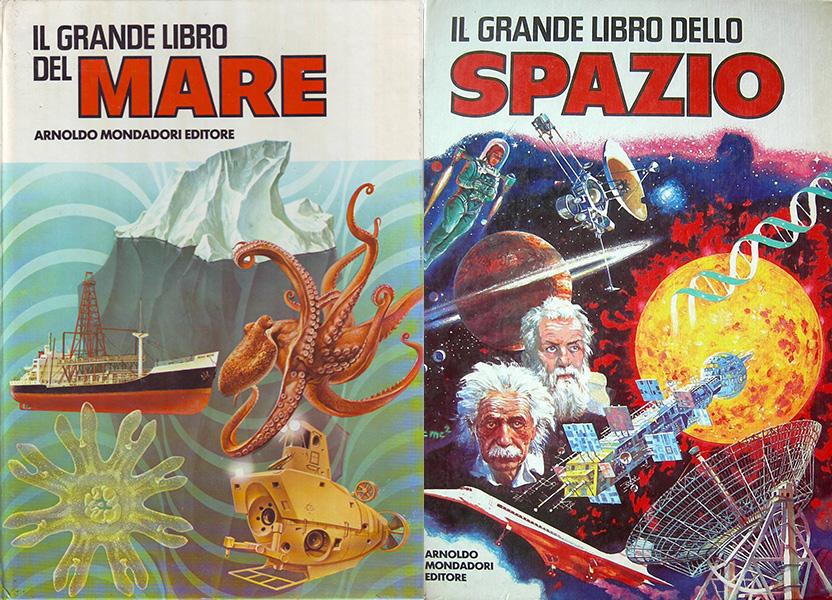 Il Grande libro del Mare ed Il Grande libro dello Spazio - Mitiche Stelle