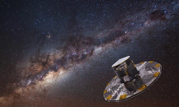 GAIA vede per la prima volta la barra centrale della Via Lattea