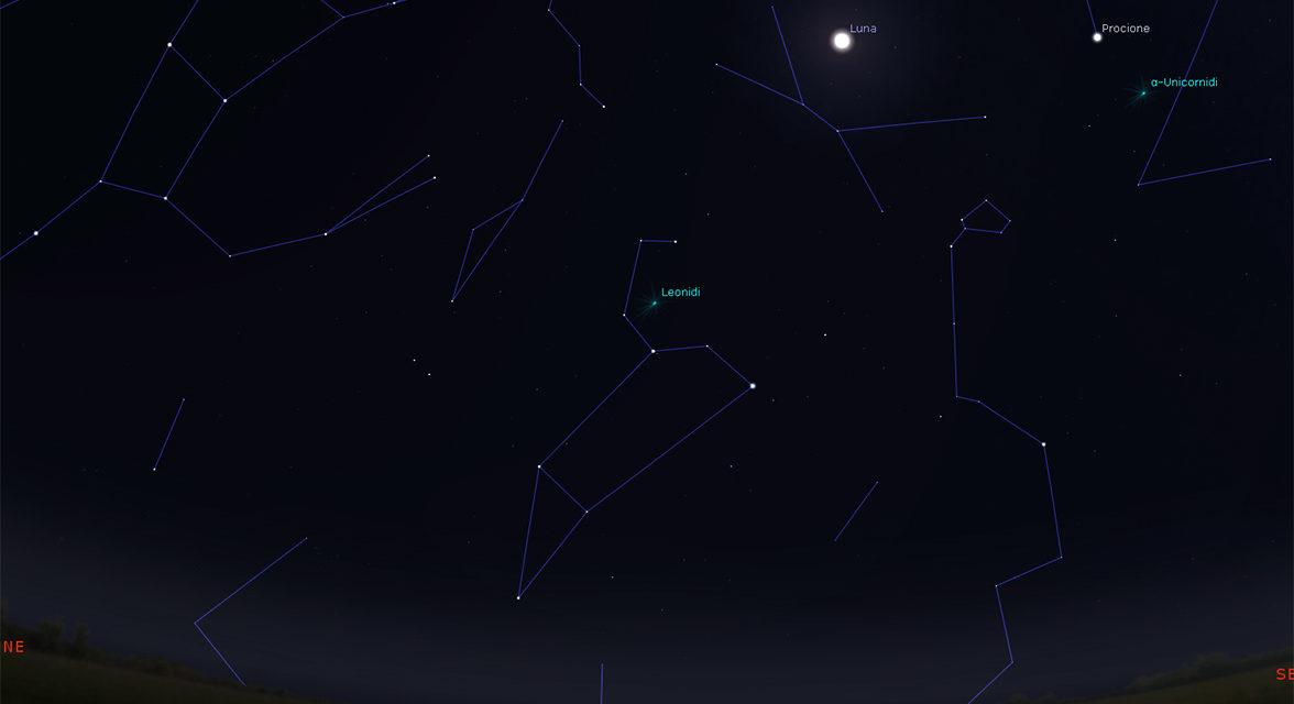 Lo sciame meteorico delle Leonidi