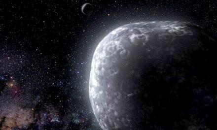 Un oggetto binario nella fascia di Kuiper