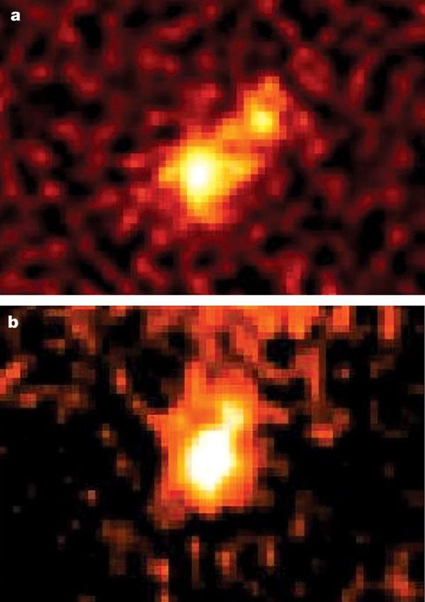 1998 WW31 ripreso dal Canada-France Hawaii Telescope