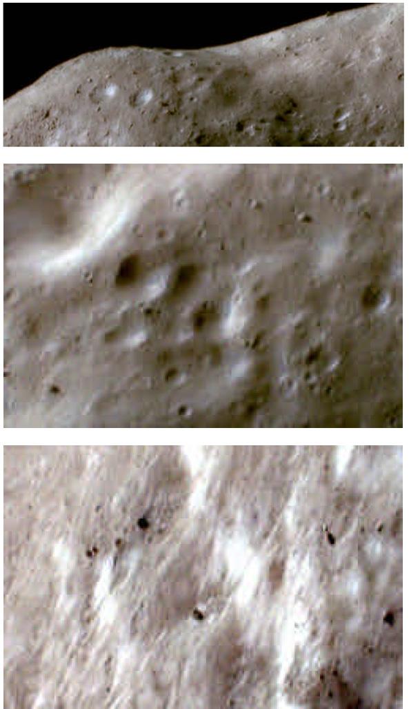 L'asteroide Eros ripreso dalla sonda NEAR