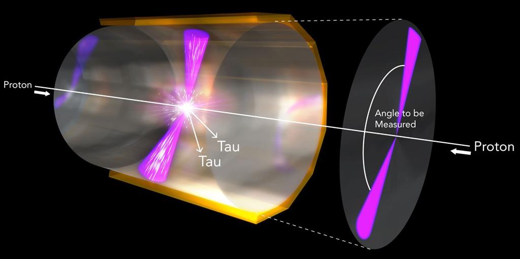 Le collisioni protone-antiprotone nell'esperimento BaBar