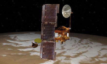 Ghiaccio d'acqua su Marte, trovato!