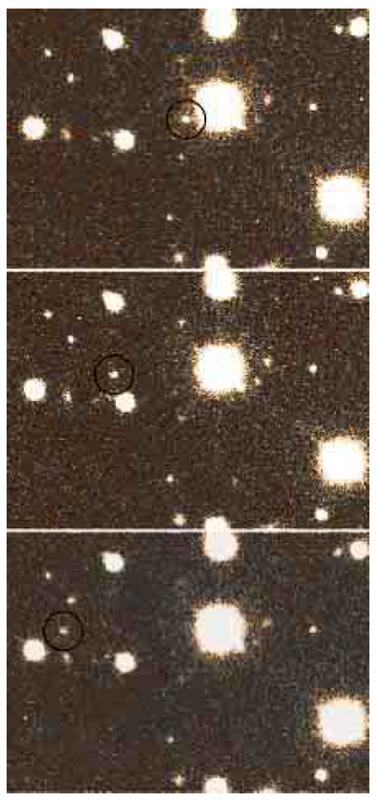 Il moto proprio di uno dei satelliti di Giove, S/2002 J3