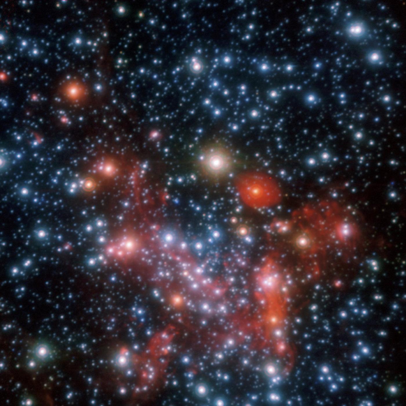 Immagine in banda H e K combinata del centro galattico
