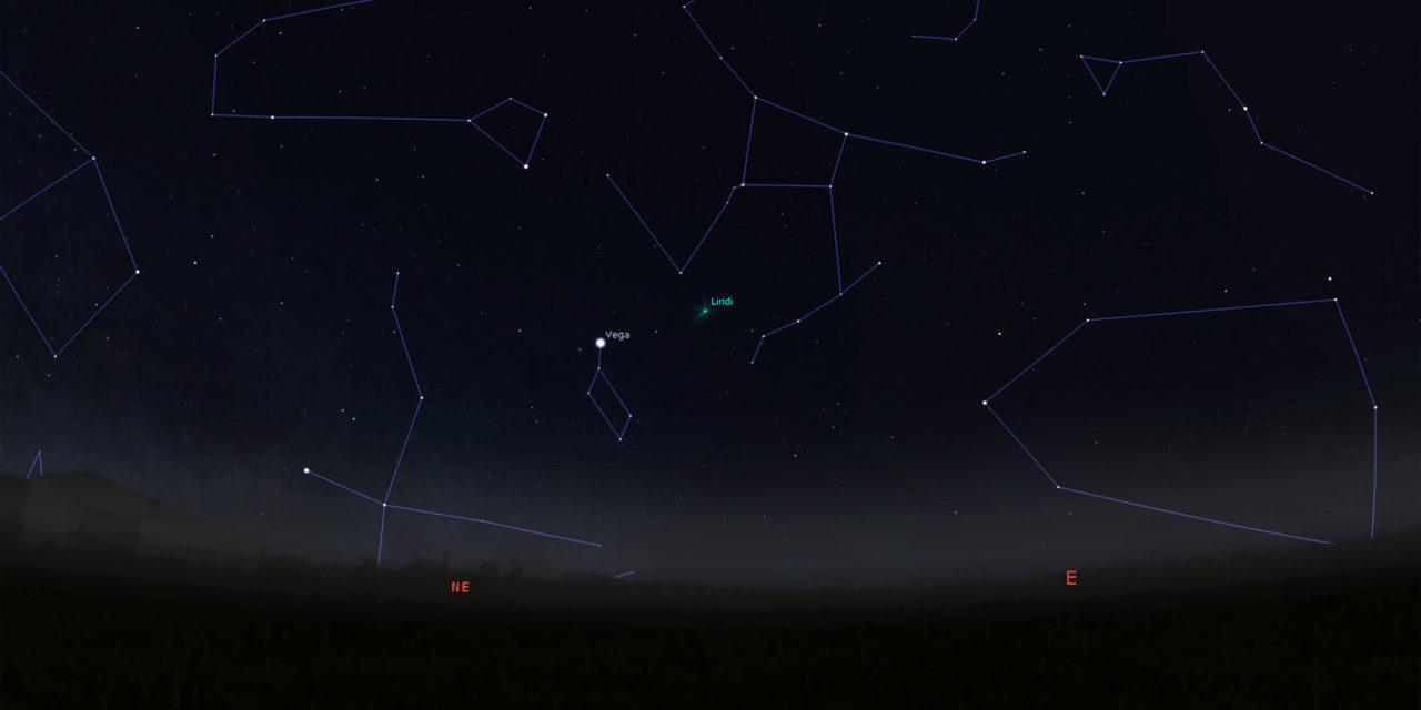 Lo sciame meteorico delle Liridi