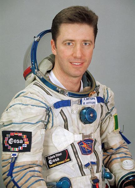 Roberto Vittori, astronauta ESA
