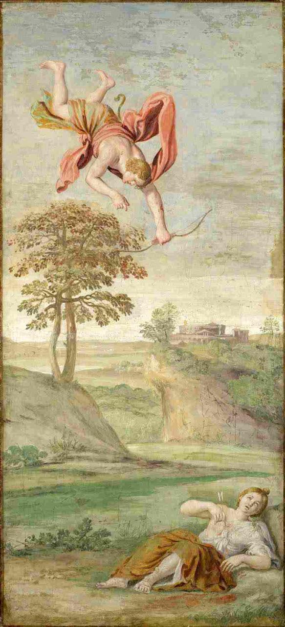 Apollo uccide Coronide - Londra, National Gallery