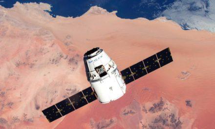La Crew Dragon di SpaceX in partenza verso la ISS