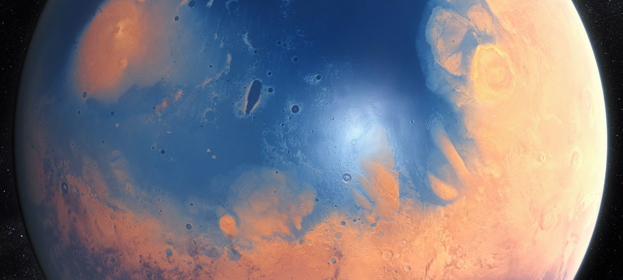 Su Marte un tempo l'acqua scorreva…a fiumi