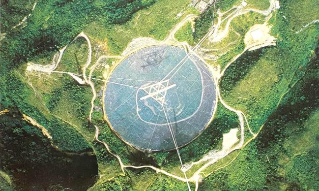 Il radiotelescopio di Arecibo sarà smantellato