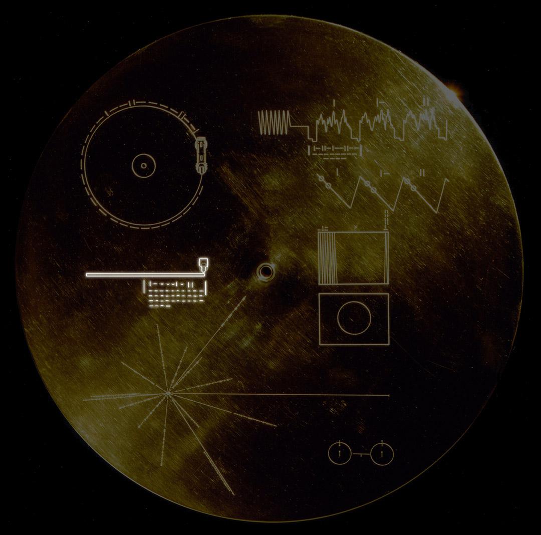 La durata dei contenuti nel disco d'oro delle Voyager