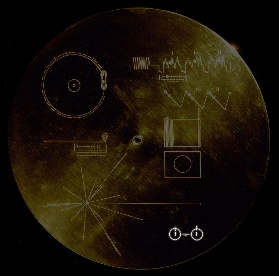 L'unità di tempo incisa nel disco d'oro delle Voyager e nella placca delle Pioneer