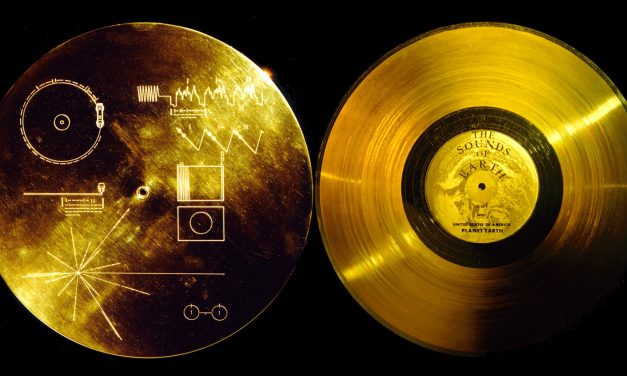 Il disco d'oro delle sonde Voyager
